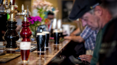 Victorians and people in NSW will have to return to pubs, cafes and restaurants if the economy is to get back to its pre-virus level.