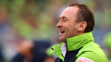 Ricky Stuart is ditching the sidelines for the privacy of the coach's box.