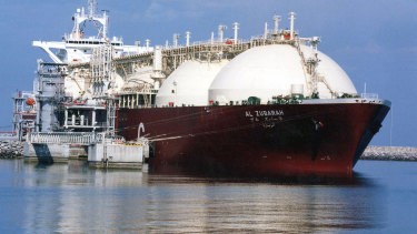 There was strong demand from across Asia for liquefied natural gas.
