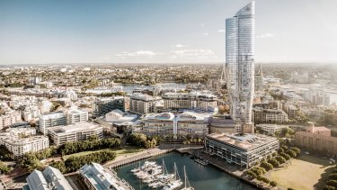 The Ritz Carlton proposal at Prymont is an example of what's wrong with planning in NSW.