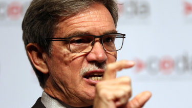 Mike Nahan had fallen out of favour with the state's daily newspaper after a speech at the state Liberal party conference in 2018.