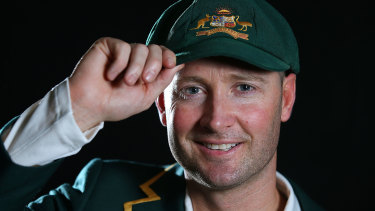Michael Clarke has been recognised for his on and off-field contributions.