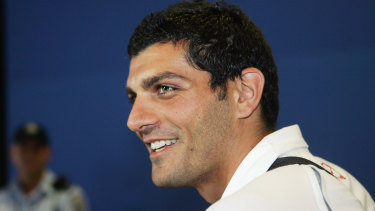 John Aloisi, pictured in 2005, believes Australian soccer needs to be restructured.