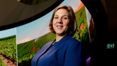 Telstra's chief operating officer Robyn Denholm.