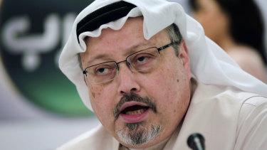 Murdered journalist Jamal Khashoggi.