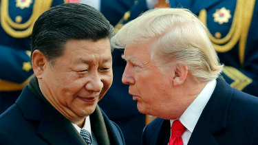 China and the US are locked in a trade spat.