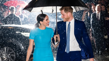 The Duke and Duchess of Sussex have formalised their split from the royal family.