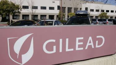 Gilead Sciences Inc. headquarters in Foster City, California.