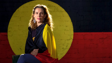Gunditjmara Woman Laura Thompson, the managing director of Spark Health Australia and Clothing The Gap.