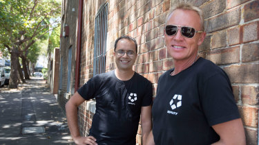 Deputy co-founders Ashik Ahmed (left) and Steve Shelley.