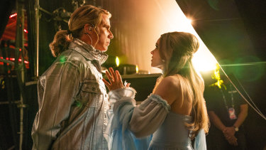 Will Ferrell (left) and Rachel McAdams in a scene from Eurovision Song Contest: the Story of Fire Saga.