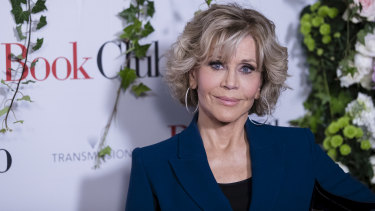 Cecil B. DeMille Award recipient, actress Jane Fonda.