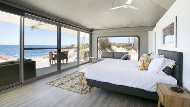 Discovery Rottnest Island's glamping eco-resort is the first development of accommodation on the island in 30 years.