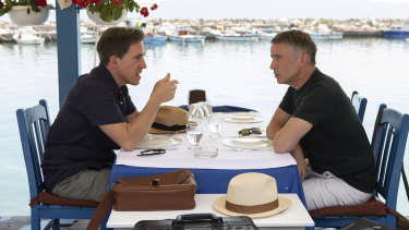 Rob Brydon and Steve Coogan have learnt not to eat much during filming, as they are served each meal three times for different camera shots.