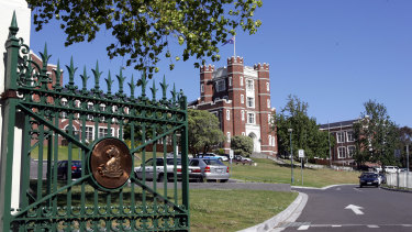 Melbourne High School has about 650 year 11 and 12 students.