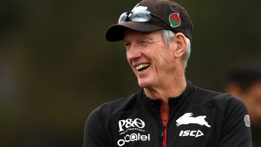 Wayne Bennett isn't ruling out picking out James Roberts in South Sydney's first game back.