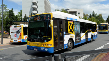 Chroming, or inhaling vapours to create a high, is a problem for Brisbane's bus network.