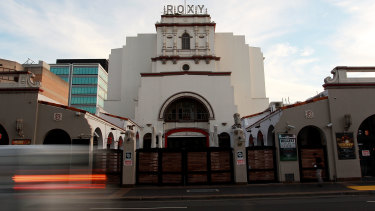 The Roxy, which dates from 1929, has heritage significance as a rare example of an interwar picture palace.
