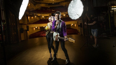 "John-Luis ""Johnny Rock"" Moretti and Violet ""Fresh Violet"" Anderson will audition for The Wedding Singer."