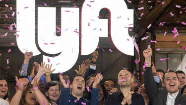 After a glittering debut, Lyft shares tumbled below its IPO price on Monday.
