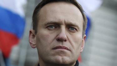 Alexei Navalny is suspected of being poisoned.