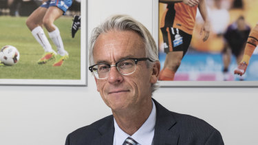 Outgoing FFA boss David Gallop.
