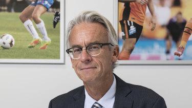 Outgoing FFA boss David Gallop.
