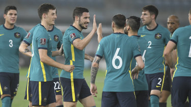 The Socceroos were dominant in all aspects of the match.