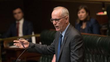 A critical figure in a sensitive debate ... the member for Lake Macquarie, Greg Piper.