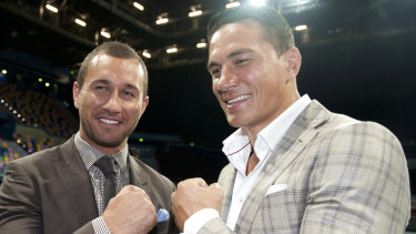 Mateship: Sonny Bill Williams has no divided loyalties when it comes to Quade Cooper.