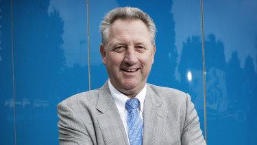 Steve Wood, the former CEO of Tennis Australia.
