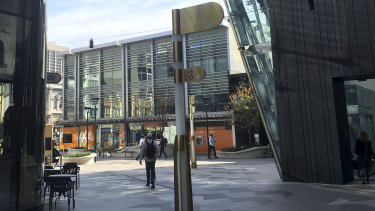 Bankwest is Raine Square's major tenant but could be on the move from the troubled retail precinct.