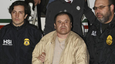 "Joaquin ""El Chapo"" Guzman was convicted and imprisoned in the US."