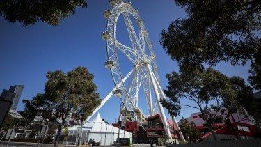 The Melbourne Star observation wheel.