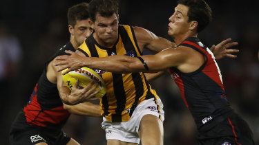 Tasmania could be an option for Hawthorn to play Essendon in front of crowds next weekend.