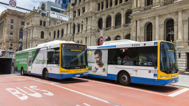 Public transport capacity will be made public through an app.