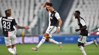 Ronaldo trumps Sarri-ball as Juve win another Serie A title