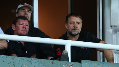 Russell Crowe and James Packer's plan to end off-field scandals in NRL