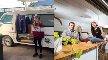 The old vans being transformed into Insta-worthy holiday getaways