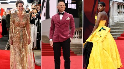 Shaken and stirred with revenge on the red carpet at Bond premiere