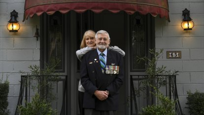 'Be proud of what you did': The words that convinced this Anzac march leader to turn up
