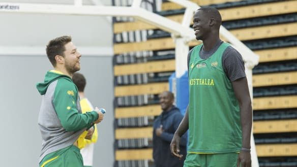 Thon Maker, Delly primed for Boomers' games in Asian qualifiers