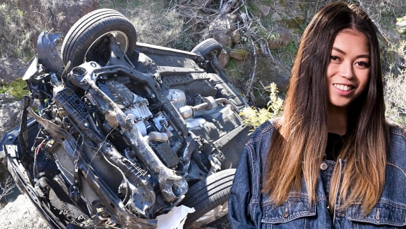 How Kathleen crashed her car in steep bushland and survived seven days
