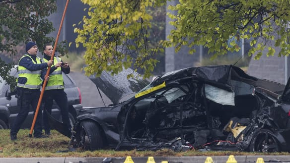 Two teenagers arrested after hit-run crash which killed young couple
