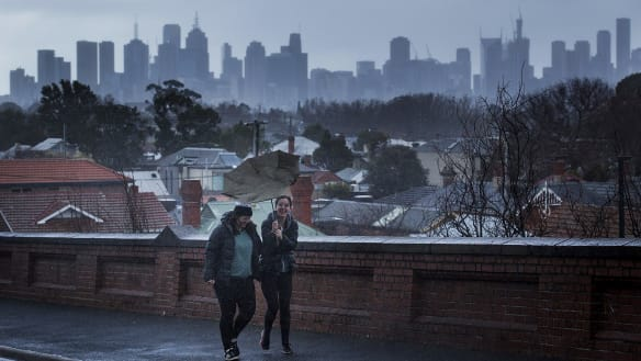 Melbourne weather: Rug up, pack a brolly it's winter's 'last' icy blast