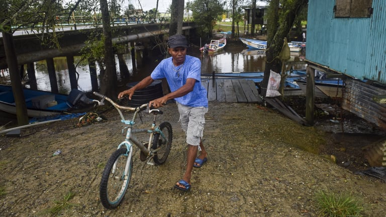 Jimmy Lalla, 36,  is a fisherman who was with two others when Venezuelan pirates fast approached their fishing boat, forced two of the men off their boat and into the water, and kidnapped the boat's captain on the waters between Venezuela and Trinidad.