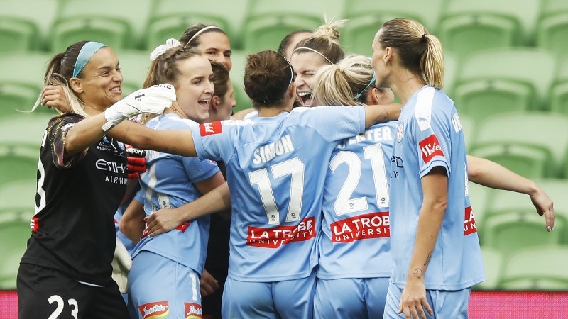 Melbourne City win W-League grand final