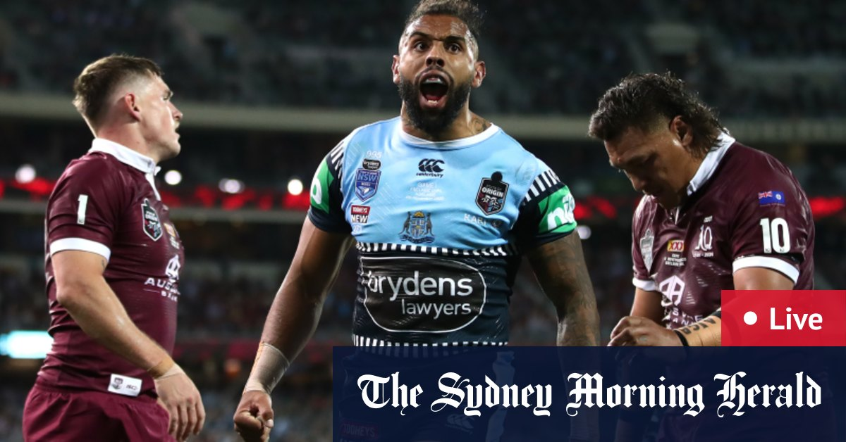 As it happened: NSW roll Maroons to set up Suncorp Stadium decider – The Age