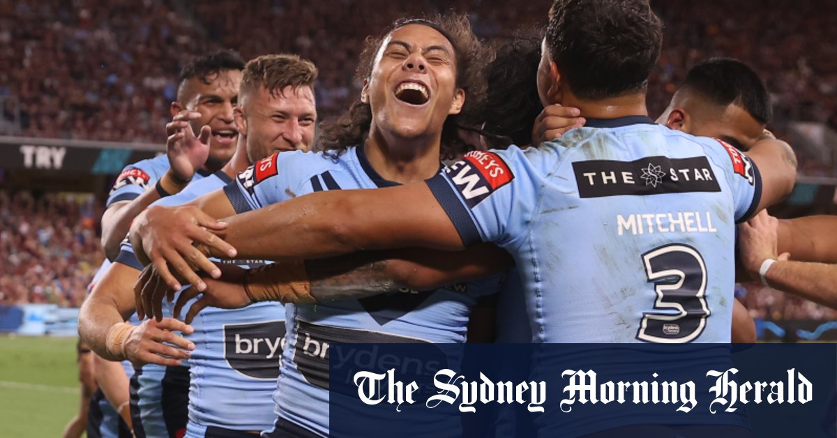 State of Origin television ratings up on last year's series opener – Sydney Morning Herald
