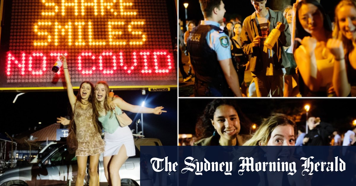 'Just have to make the most of it:' Upended schoolies descend on Byron Bay – Sydney Morning Herald